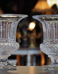 Paire vases Saint Louis Versailles Galerie Maxime