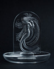 Baguier Ring Stand Lalique France Naiade Galerie Maxime Marche Vernaison