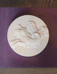 Plaque Marc Boussac Porcelaine Sevres Galerie Maxime Marche Vernaison