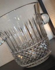 Seau Champagne Cristal Saint Louis Tommy Galerie Maxime Marché Vernaison galeriemaxime