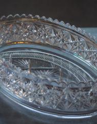 Jardiniere cristal Val Saint Lambert Galerie Maxime Marche Vernaison