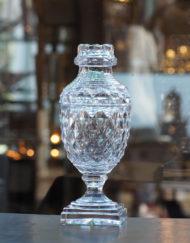 Pot Couvert Cristal Le Creusot Galerie Maxime Marché Vernaison