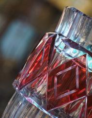 Vase cristal Val Saint Lambert Charles Graffart Art Deco Galerie Maxime Marche Vernaison galeriemaxime