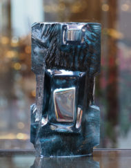 Vase Daum France Argos Turquoise Galerie Maxime Marché Vernaison