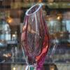 Vase Cristal Sevres Cameleon Galerie Maxime Marché Vernaison