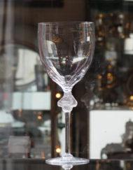 Vase Cristal Lalique Roxane Galerie Maxime Marché Vernaison