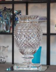 Vase Cristal Saint Louis Medicis 40cm Galerie Maxime Marché Vernaison