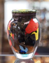 Vase Jean Claude Novaro multicolore Galerie Maxime Marché Vernaison