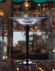 Coupe Cristal Saint Louis Art Verrier Paul Nicolas Galerie Maxime Marché Vernaison