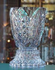 Exceptionnel Vase Cristal Val Saint Lambert Art Déco Charles Graffart Galerie Maxime Marché Vernaison