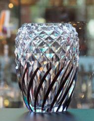 Vase Cristal Val Saint Lambert Charles Graffart Art Déco Galerie Maxime Marché Vernaison