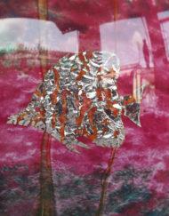 Vase Jean Claude Novaro Poissons Aquarium Galerie Maxime Marché Vernaison