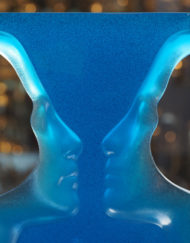 Sculpture Cristal Daum Roy Adzak Reflet du Nil Galerie Maxime Marché Vernaison