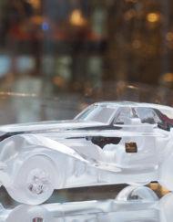Voiture Cristal Daum Bugatti Coupé Riviera Galerie Maxime Marché Vernaison