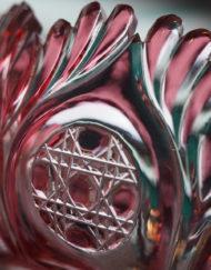 Coupe Vase Cristal Clichy Baccarat Galerie Maxime Marché Vernaison