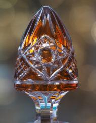Paire carafes couleur Cristal Baccarat Lagny Galerie Maxime Marché Vernaison