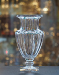 Vase Cristal Baccarat Medicis Galerie Maxime Marché Vernaison