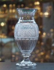 Vase Diamant Cristal Baccarat 35 cm Galerie Maxime Marché Vernaison