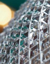 Vase Diamant Cristal Baccarat 50 cm Galerie Maxime Marché Vernaison