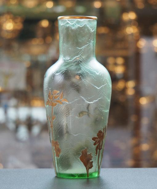Vase Legras Montjoye Art Nouveau Galerie Maxime Marché Vernaison