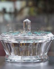 Boite Cristal Baccarat Art Déco Galerie Maxime MArché Vernaison