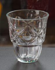 Vase Cristal Baccarat Art Déco Galerie Maxime Marché Vernaison