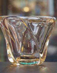 Vase Cristal Daum France 1950 - 1960 Galerie Maxime Marché Vernaison