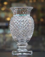 Vase Cristal Saint Louis Medicis Diamant Galerie Maxime Marché Vernaison