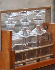 Cave liqueur Cristal Baccarat Art Déco Galerie Maxime