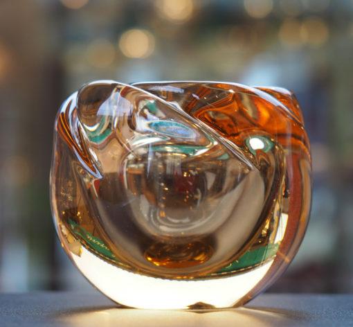Vase Cristal Daum Nancy France 1950 Galerie Maxime